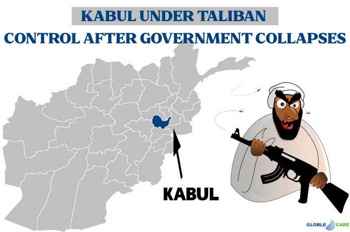 Kabul Under Taliban Control After Government Collapses | Afghanistan