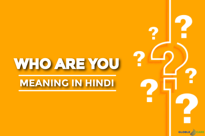 Who Are You Meaning In Hindi
